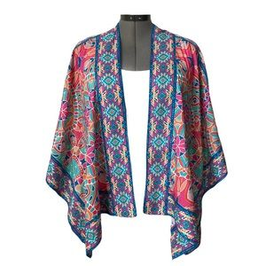Mahila Raelyn Tribal Modal Jacket/Ruana.